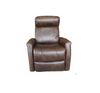 ATLAS ELECTRIC LEATHER  RECLINER  CHAIR  -DARK BROWN