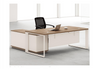 BRODY EXECUTIVE OFFICE DESK WITH LEFT RETURN -760(H) x 1800(W) - TWO TONED