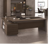 CATER EXECUTIVE OFFICE DESK WITH LEFT OR RIGHT SIDE RETURN -  750(H) X 2200(W) TWO TONED