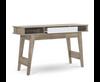 BARTEL SCANDINAVIAN CONSOLE / HALLWAY TABLE - 1200(W) - OAK / WHITE