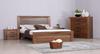 BERKSHIRE   2 DRAWER  BEDSIDE TABLE  - WORMY OAK