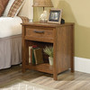CANNERY BRIDGE 2 DRAWER BEDSIDE TABLE  - MILLED CHERRY FINISH