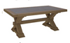 COTTAGE BILLABONG COFFEE TABLE - 1200(W) X 650(D)- COLOUR AS PICTURED