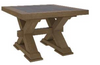 COTTAGE BILLABONG  LAMP TABLE - 450(H) X 650(W)- COLOUR AS PICTURED