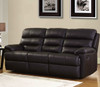 CARTER 3RR FULL LEATHER RECLINER SOFA (SEMI ANILINE)