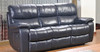 DRESDEN 3RR+R+R FULL LEATHER RECLINER SUITE  - (SINGLE RECLINER NOT PICTURED)