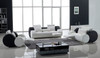 MADISON (F6005) 1 SEATER + 2 SEATER + 3 SEATER LEATHER/ETTE COMBINATION LOUNGE SUITE - ASSORTED COLOURS