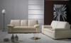 BENCE (F6009) 1 SEATER + 2 SEATER + 3 SEATER LEATHER/ETTE COMBINATION LOUNGE SUITE - ASSORTED COLOURS