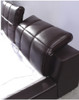 ASPEN QUEEN 3 PIECE BEDSIDE BEDROOM SUITE WITH (#20 BEDSIDES) - LEATHERETTE - ASSORTED COLOURS