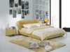 KING DAVIDSON LEATHERETTE BED (A9112) - ASSORTED COLOURS