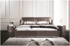 QUEEN ATREUS LEATHERETTE BED (A9057) - ASSORTED COLOURS