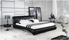 KING VANDER BERG LEATHERETTE BED (A9922) - ASSORTED COLOURS
