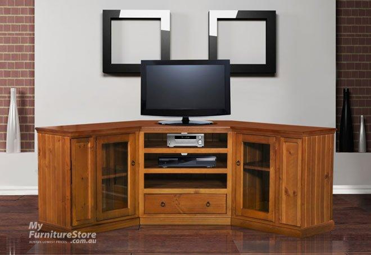 Superbe MOSAIC 3 PIECE CORNER TV ENTERTAINMENT UNIT   1780(W)   ASSORTED COLOURS