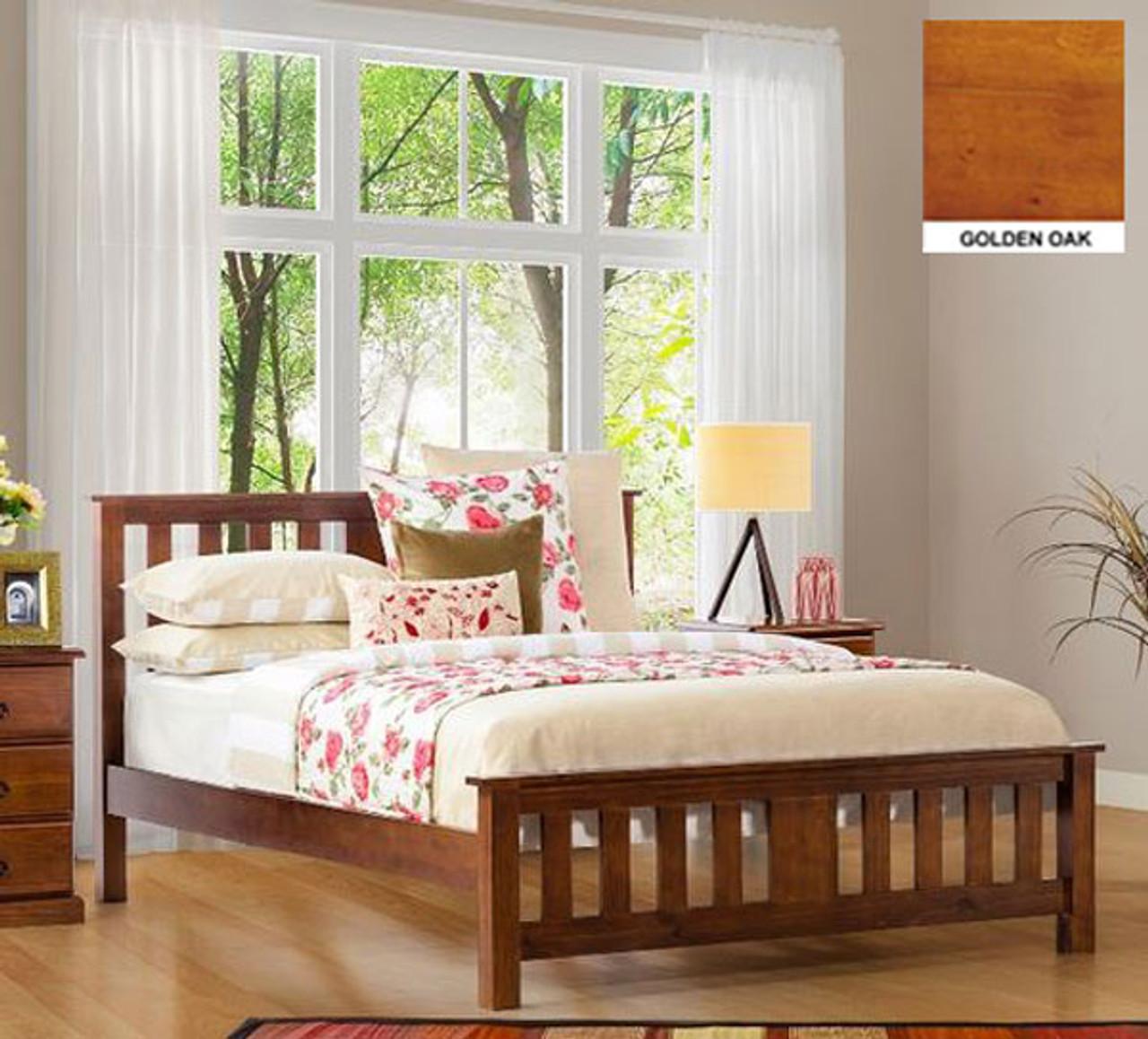 DOUBLE CARRINGTON BED CHOCOLATE Australias Best Online - Carrington bedroom furniture