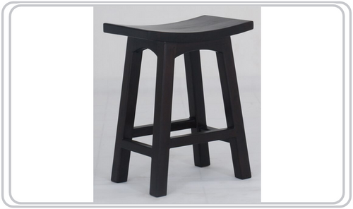 LATSON WOODEN BAR STOOL / KITCHEN BENCH (BR067WD) - SEAT: 670(H) - MAHOGANY OR CHOCOLATE