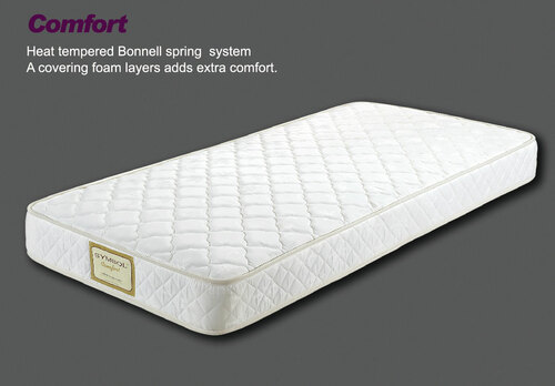 KING SINGLE COMFORT ENSEMBLE (BASE & MATTRESS) - MEDIUM FIRM