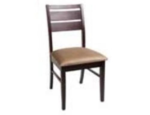 RIANN CHAIR (RIA CH 1 PA) - CHOCOLATE WITH MOCHA CUSHION SEAT