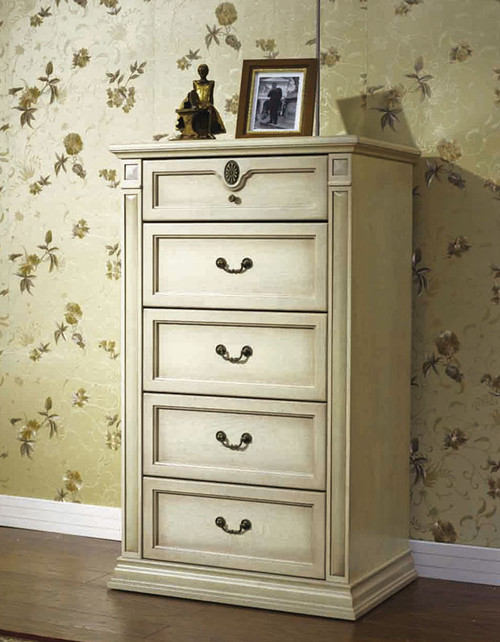 CASINO (BE-313) TALLBOY 1180(H) x 707(W) - LIME WASH WHITE