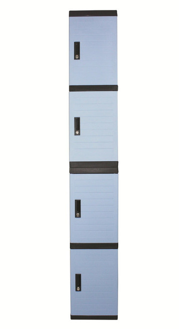 SARAH FOUR TIER STORAGE LOCKER - 350(W) - ASSORTED COLORS