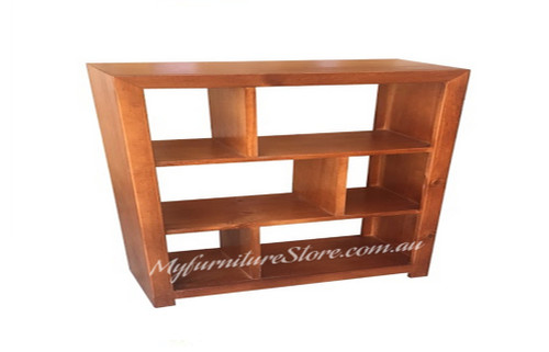 DERBY LOWLINE BOOKCASE / STAGGERED ROOM DIVIDER - 3X5(NO BACK) - 900(H) X 1500(W) - ASSORTED COLOURS