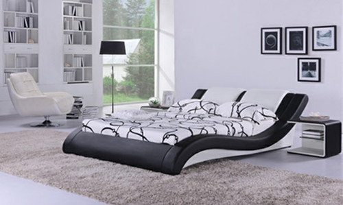 QUEEN TURIN (G884) LEATHERETTE BED - ASSORTED COLOURS AVAILABLE
