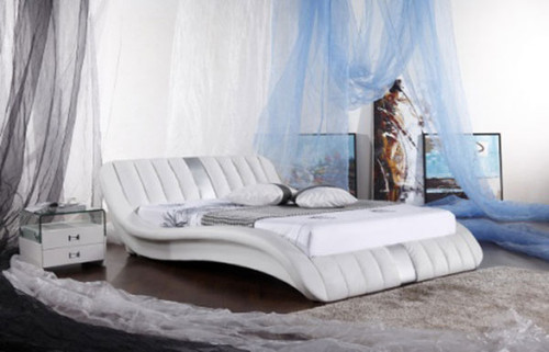 KING (G926#) LEATHERETTE BED - ASSORTED COLOURS AVAILABLE