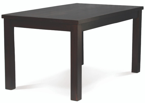 BRONTE DINING TABLE ONLY (MODEL: DT150-150-RPN-C) - 1500(L) X 1500(W) - CHOCOLATE