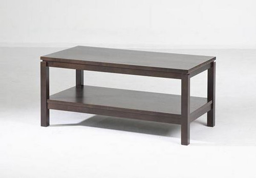 CUBIST (VCT-002) COFFEE TABLE -CHOCOLATE OR  LIGHT HONEY - 430(H) X 960(W) X 500(D)