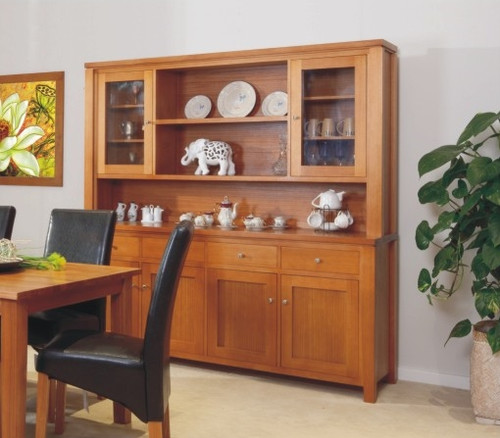 FAIRHOLM 4 DOOR BUFFET WITH 4 DRAWERS (HUTCH NOT INCLUDED) -  900(H) X 2000(W)  -CHOICE OF COLOURS