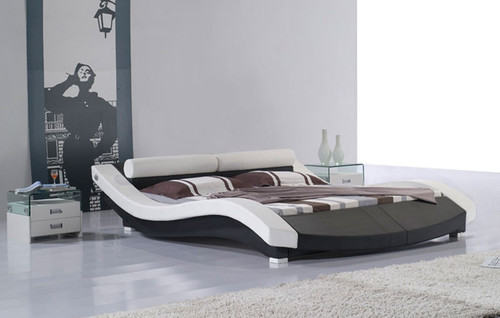 DOUBLE EIRENE LEATHERETTE BED (3011) - ASSORTED COLORS