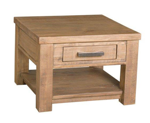 FALLS CREEK LAMP TABLE (FCL08) - AGED SUNDRIED ASH
