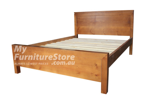 KING SINGLE CELINE BED - ASSORTED COLOURS
