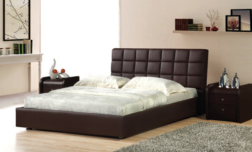 VELLETRI QUEEN 3 PIECE BEDSIDE BEDROOM SUITE (WITH #86 BEDSIDES) - LEATHERETTE - ASSORTED COLOURS
