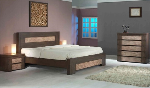 CHENIN QUEEN 4 PIECE TALLBOY BEDROOM SUITE - ASHTON CASTLE
