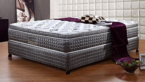 DOUBLE AFFINITY ENSEMBLE (MATTRESS & BASE) - GENTLY FIRM