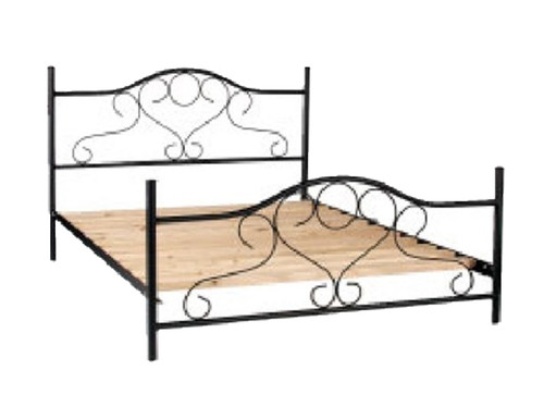 QUEEN MIRI BED - ASSORTED COLOURS