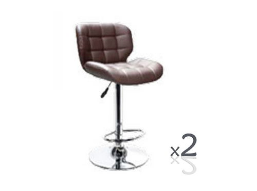 BAY BAR STOOL (SET OF 2) - BLACK (3358) OR WHITE (3359)