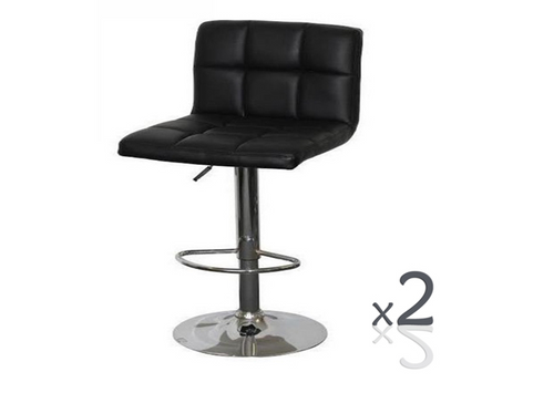 ETON  STOOL- 2 PER BOX - BLACK OR WHITE
