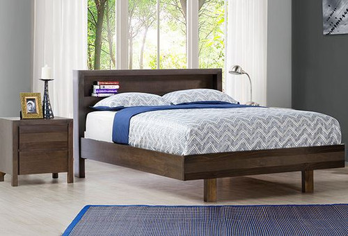 TREND (OR-164) DOUBLE OR QUEEN 3 BEDSIDE BEDROOM SUITE - CHARCOAL