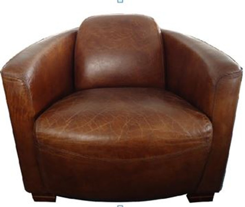 SPOLETA (2026) 1 SEATER FULL LEATHER CHAIR