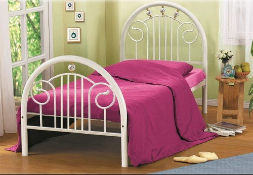 SINGLE DIANNA HIGH BACK BED