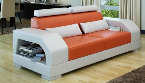 ROLDEMO (G8001) 2 SEATER  SOFA - CHOICE OF LEATHER AND ASSORTED COLOURS AVAILABLE