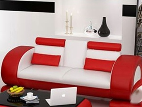 CAEIN  (R7004D)  3 SEATER  SOFA- CHOICE OF LEATHER AND ASSORTED COLOURS AVAILABLE
