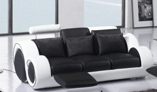 SIRENO ( F6005B) 3RR RECLINER SOFA - BONDED LEATHER - ASSORTED COLOURS