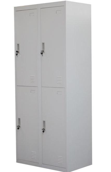 SANTEX (LLIE06) FOUR DOOR FILING STORAGE LOCKER SHED  LOCKER - 760(W) - GREY