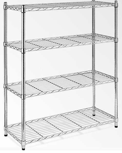 HELENIX  (MODEL-JSH-SW10) MODULAR CHROME/ WIRE SHELF (1800 x 900 x 350)