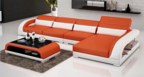 DANDY  BONDED LEATHER CHAISE LOUNGE ( MODEL-G1109C) - CHOICE OF LEATHER AND ASSORTED COLOURS AVAILABLE