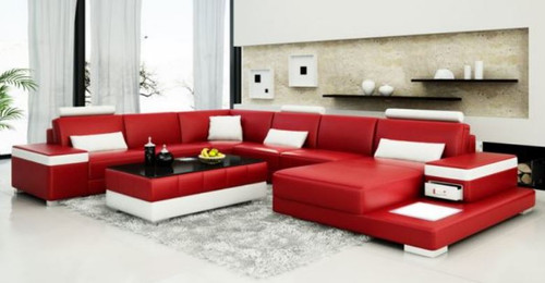 FILA   BONDED LEATHER CHAISE  LOUNGE ( MODEL-G1103) - CHOICE OF LEATHER AND ASSORTED COLOURS AVAILABLE