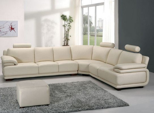 TERRY  LEATHER  CORNER LOUNGE (MODEL- G1087) - CHOICE OF LEATHER AND ASSORTED COLOURS AVAILABLE