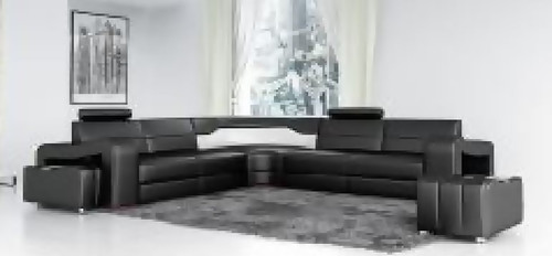 JORDAN  II LEATHER CORNER  LOUNGE  (MODEL- G1072B) - CHOICE OF LEATHER AND ASSORTED COLOURS AVAILABLE